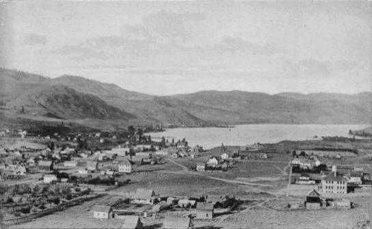 Downtown Lake Chelan, Washington 1919