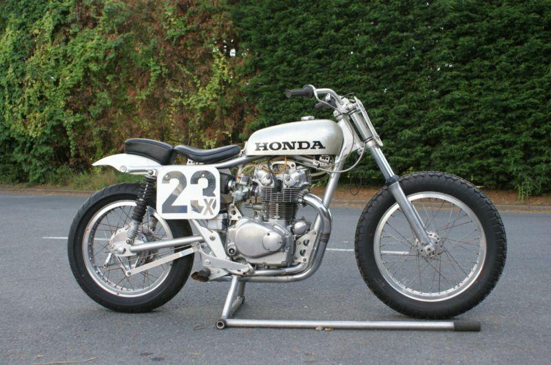 Honda CB450 Flat Tracker