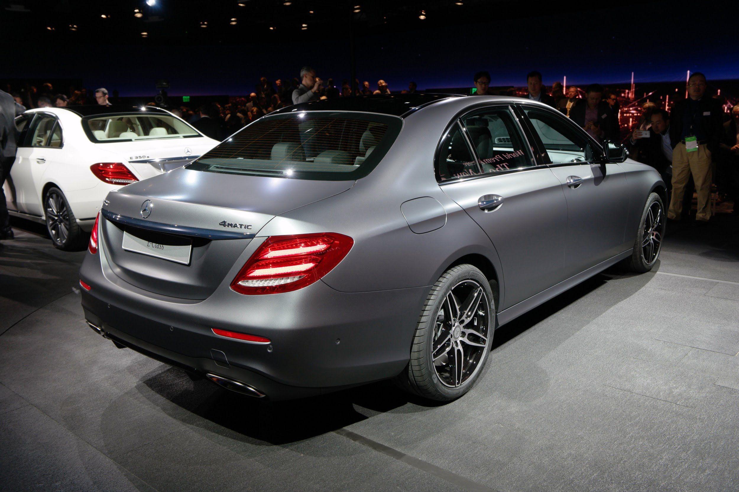 Mercedes v class gets full treatment from carlex design - 2017 Mercedes Benz E Class Detroit Auto Show 2016