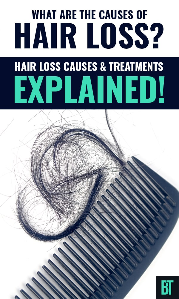Hair Loss Causes + Natural Home Treatments & Food To Stop