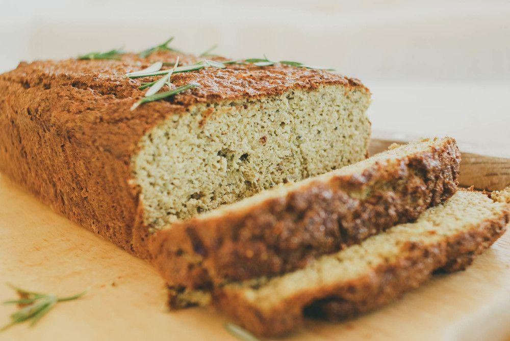 Broccoli Loaf with Garlic & Rosemary - Paleo/GF/dairy free