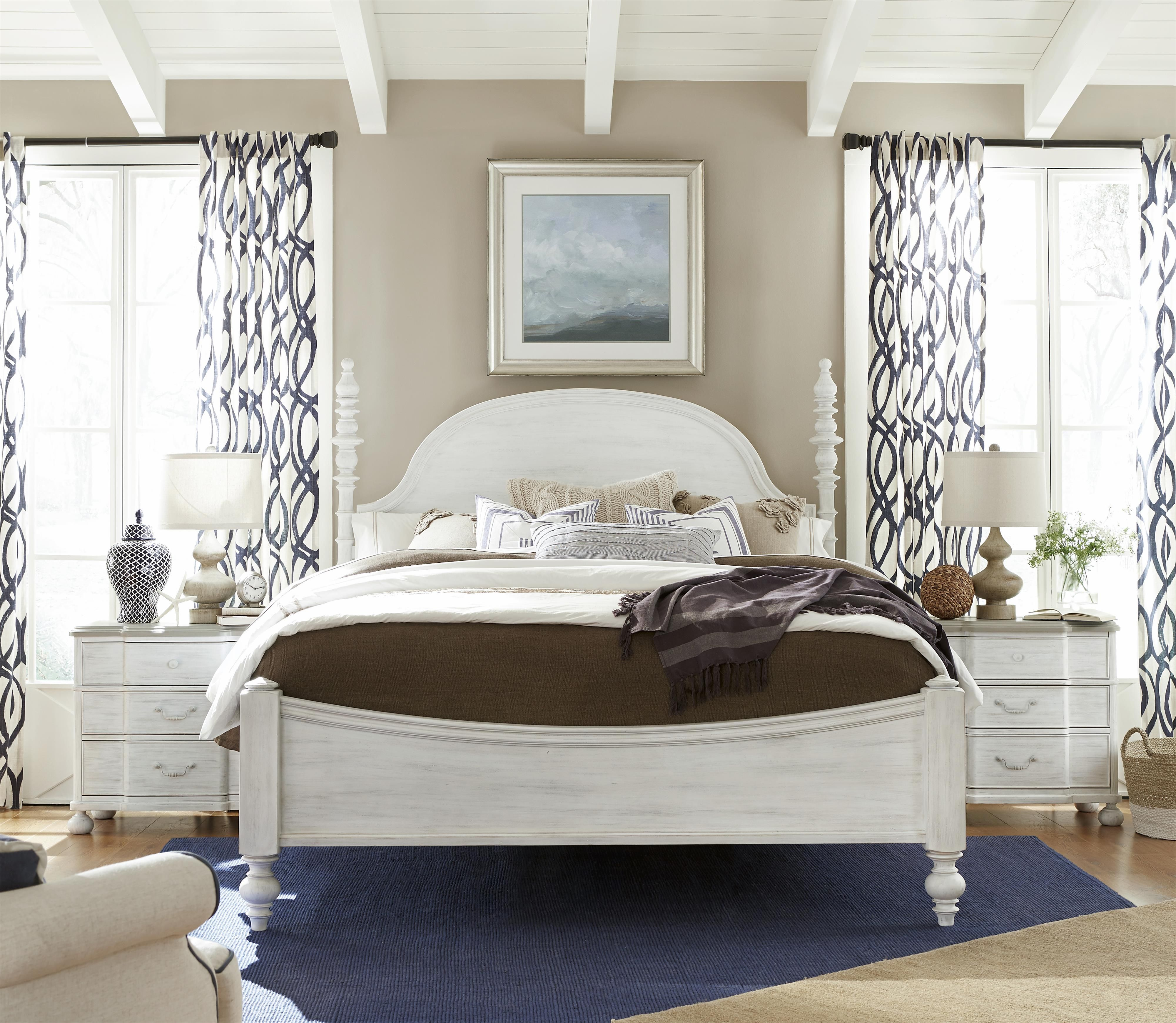 dogwood queen bedroom group by paula deen by universal ideas for