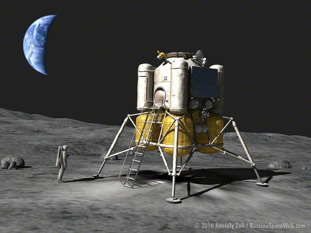 Russia Is Working on Sending Astronauts to the Moon Again