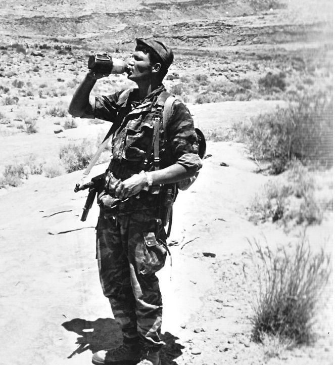 Commando MONTFORT - Yves ROEHRIG, Algerian war, pin by Paolo Marzioli