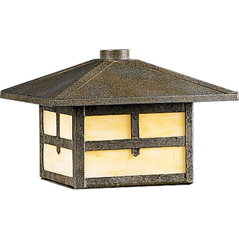 Progress Lighting P5262 46 Weathered Bronze Mission Low Voltage Single Light Rail Or Post Mount Deck Lantern Lightingdirect Com In 2020 Deck Lighting Bronze Outdoor Lighting Progress Lighting