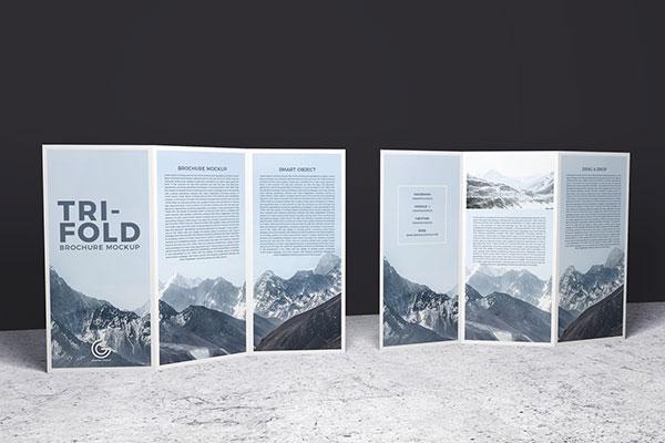 40 Best Free Tri Fold 3 Panel Brochure Mockup Psd Files Brochure Mockup Free Trifold Brochure Brochure Psd