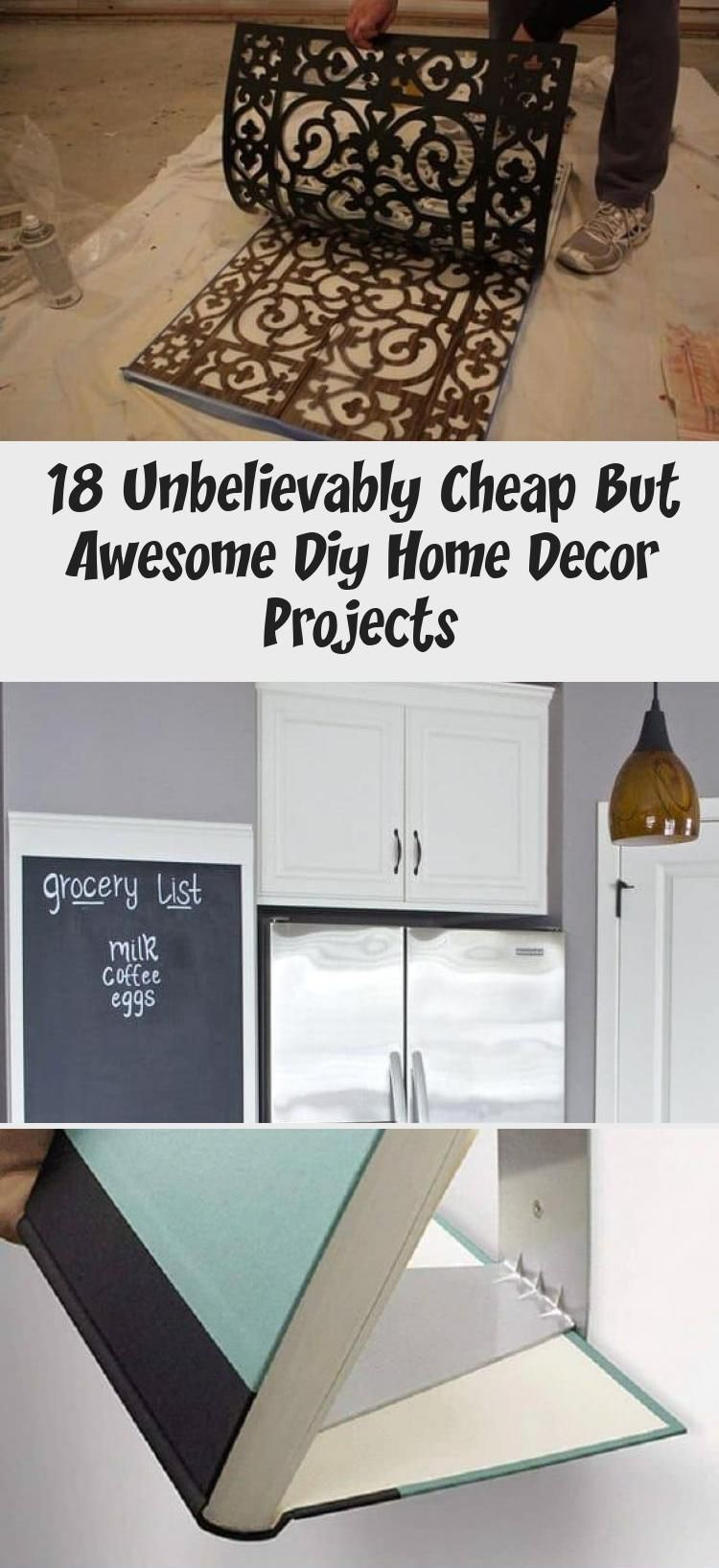 18 Unbelievably Cheap But Awesome Diy Home Decor Projects Decor Home Diy Diy Home Decor Projects Decor Project