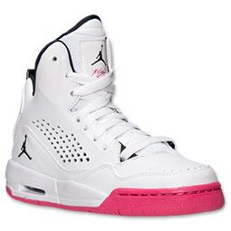 51b517271c5 Girls  Big Kids  Jordan Flight SC-3 (3.5y - 9.5y) Basketball Shoes ...
