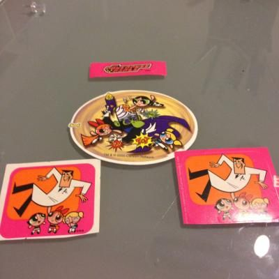 Powerpuff girls sticker lot