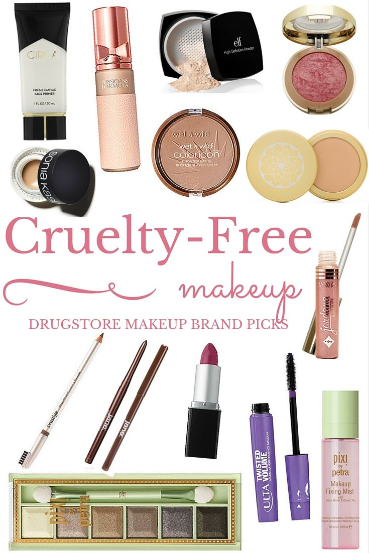 Cruelty Free Makeup Picks Cruelty free makeup, Cruelty