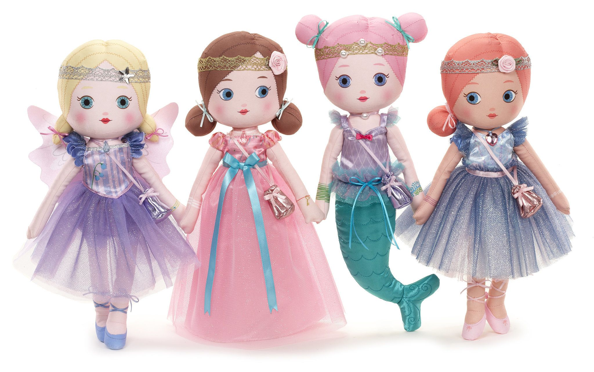 The 20 New Toys You'll Want to Add to Your Kids' Wish Lists: Mooshka Fairytale Dolls