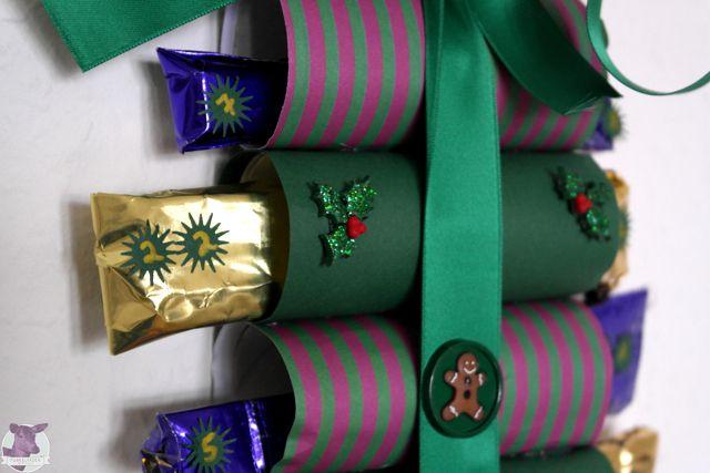 diy adventskalender aus klopapierrollen basteln basteln zu weihnachten pinterest diy. Black Bedroom Furniture Sets. Home Design Ideas