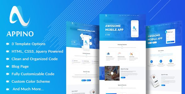 APPINO! - A Perfect Mobile App Landing Page Mobile app, Website - mobile resume