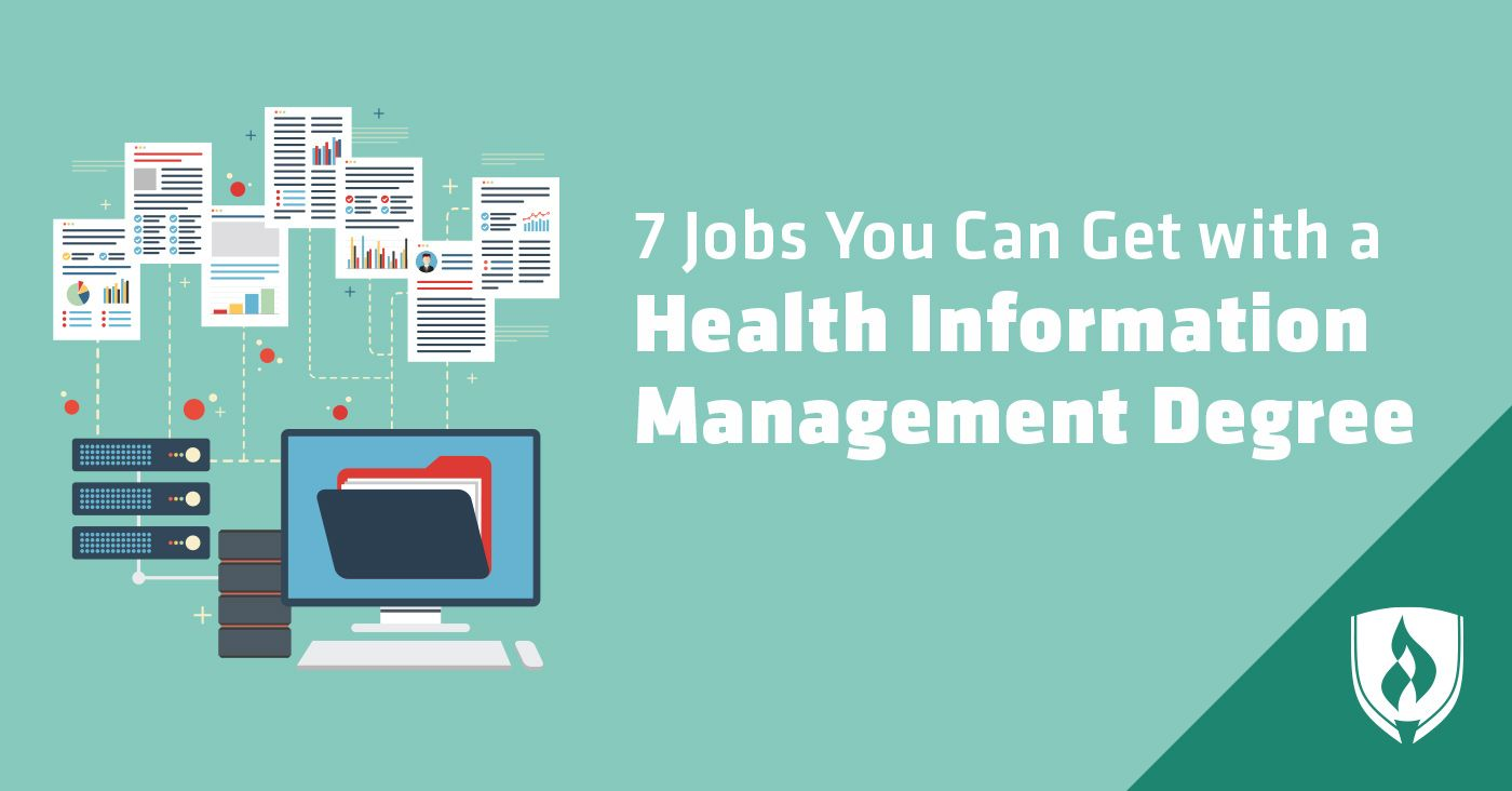 7 Jobs You Can Get with a Health Information Management