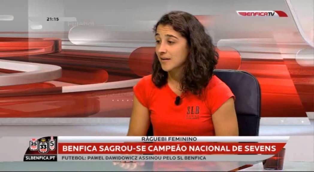 Râguebi feminino - SL Benfica é campeão de Sevens