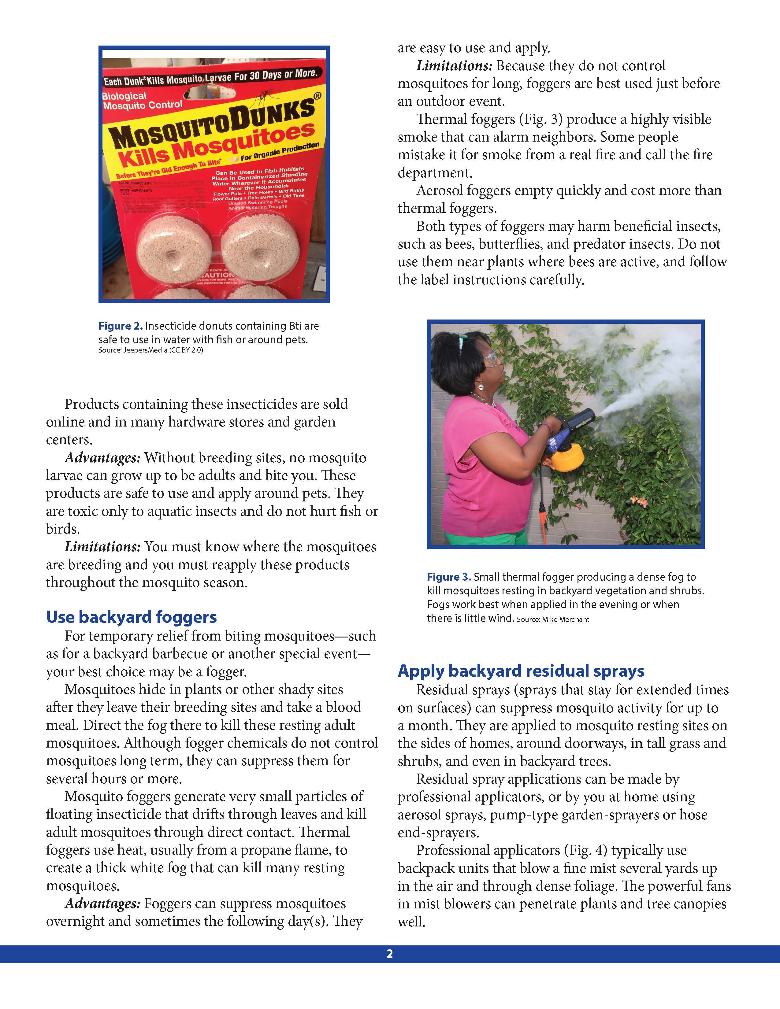 diy backyard mosquito control page 2 by texas a u0026m agrilife