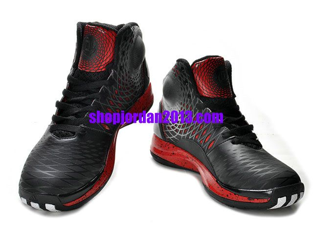 a6547569be27 ... adidas adizero rose 3.5 shoes black red cheap nba basketball shoes red  womens