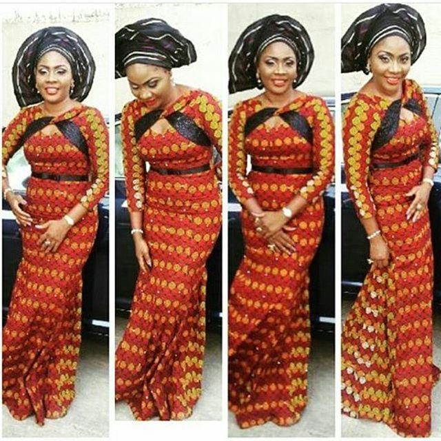 Ankara Long Gown Styles For Ladies http://www.dezangozone.com/2016 ...