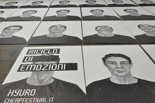 Hyuro | Riciclo di emozioni | CHEAP festival 2014 |Autostazione - viale Angelo Masini, Bologna