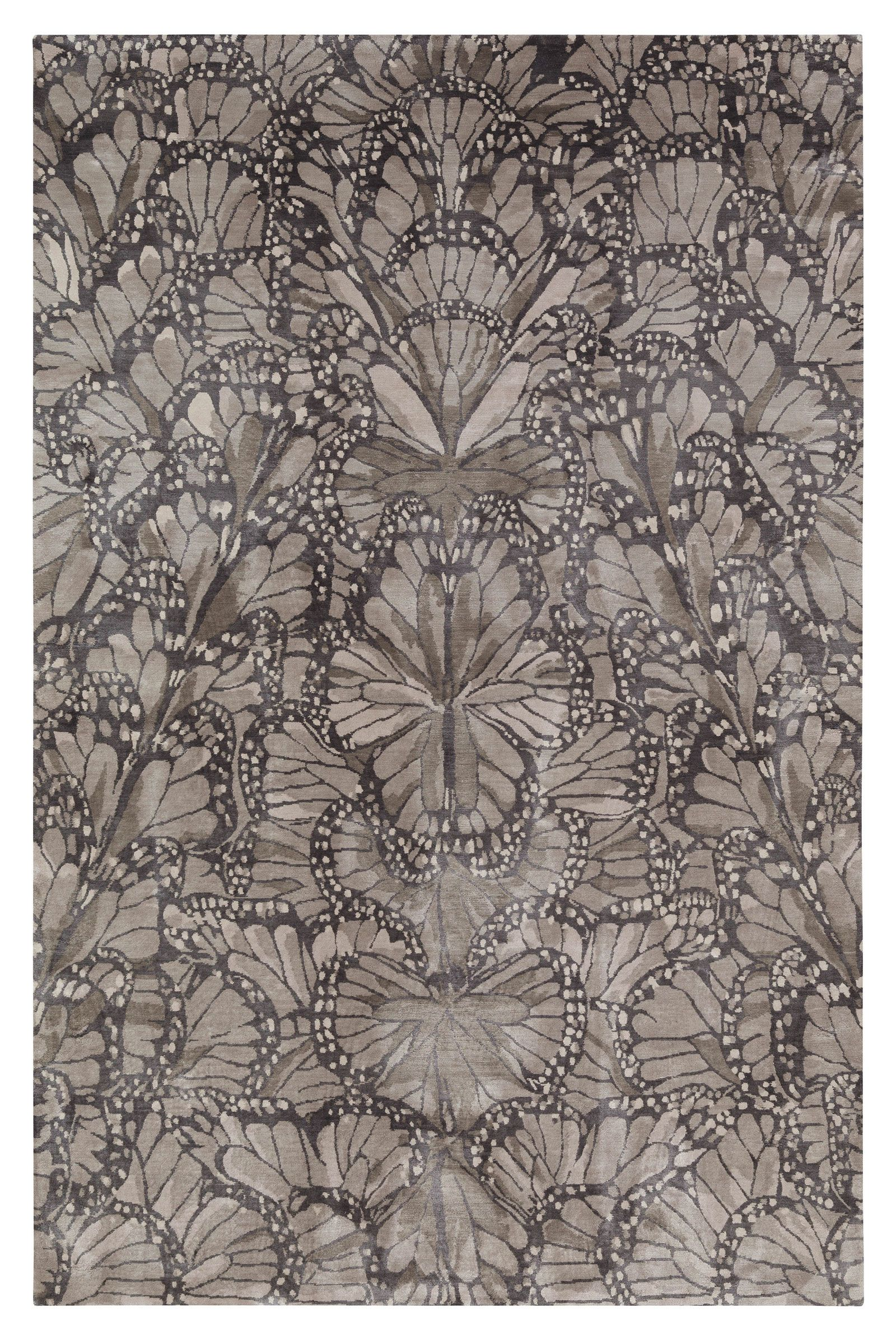 Monarch Smoke Alexander Mcqueen The Rug