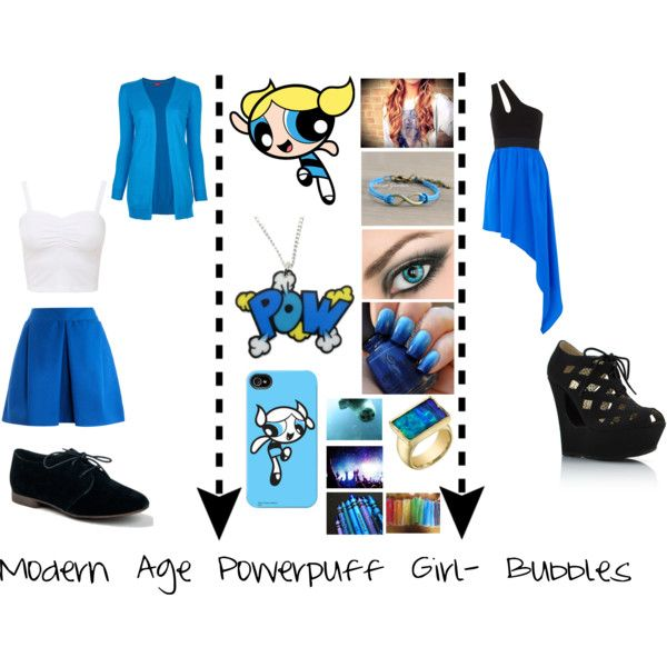 Modern Age Powerpuff Girls - Bubbles  Costume Ideas -6627