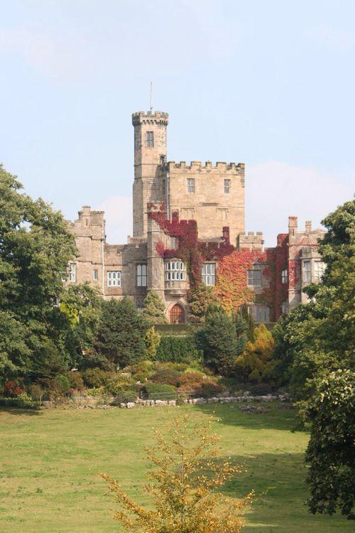 "somedesignk:  ""Hornby Castle, Lady Katherine de Banastre, Baroness of Harrington on We Heart It.  """