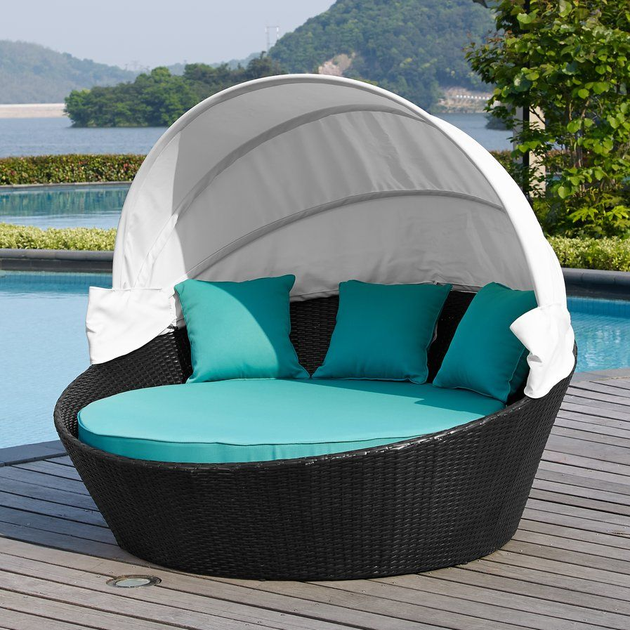 Ryde daybed with cushion garden furniture pinterest daybed