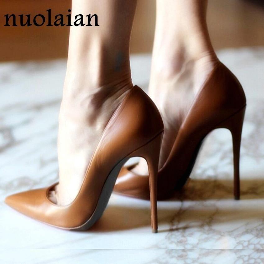12CM Brand Ladies High Heel Shoes Woman Wedding Shoes Summer Thin High  Heels Womens Platform Pumps Women Shoes Dress 785d8db4b28b