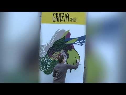 Grazia tague la Mode avec Gambette - Défilé Kenzo