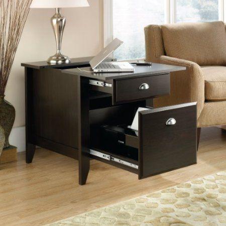 Amazon.com: SmartCenterTM Charging Station End Table / Laptop Desk /  Printer Cabinet: