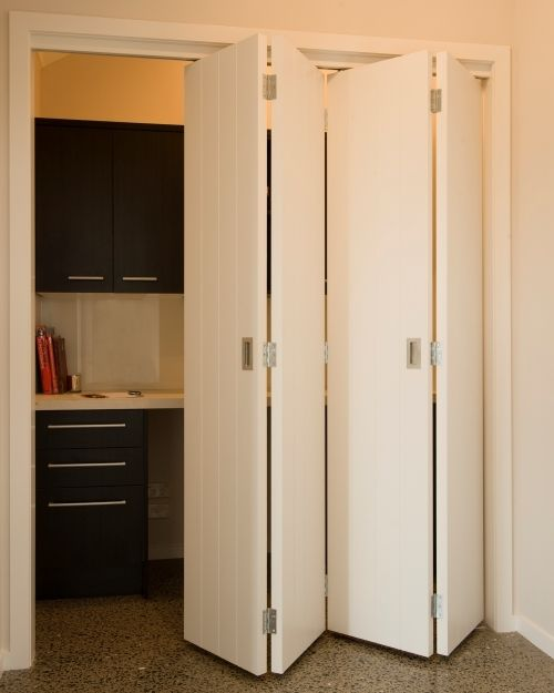 bi-fold doors that aren't ugly! | Office Stuff | Pinterest | The ...
