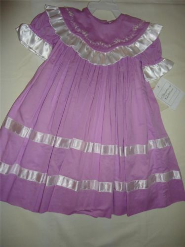 Strasburg Easter Dress Infant Baby Girls Size 6 Months Heirloom