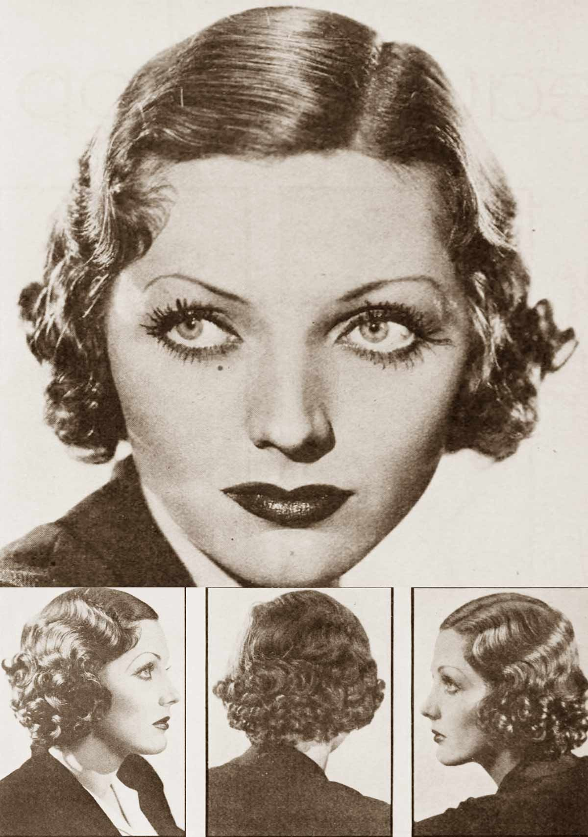 haircuts at home 1930s fall hairstyle guide adrienne ames 1932 1932