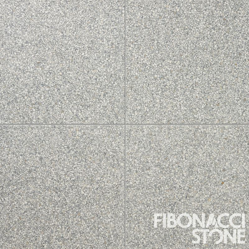 An Arrangement Of 4 Fibonacci Stone Storm Terrazzo Tiles Each Tile At 400 X