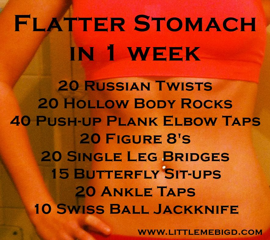 Get a flatter tummy by New Year's Eve!!! Awesome core workout!