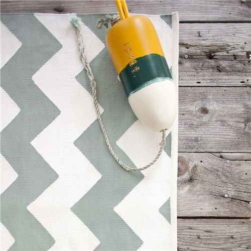 Take it to the beach this summer!!  Dash & Albert Chevron Light Blue/White Indoor/Outdoor Rug.  A shake-off and hosing is all the care it wants.
