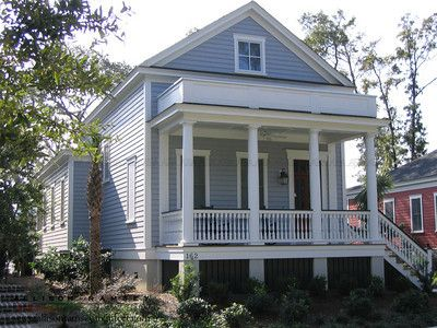 The Verdier Plan by Allison Ramsey Architects at I'on on Mount Pleasant, South Carolina.