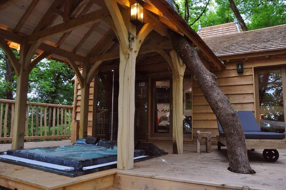 Cabane Spa Sauna Puybeton Nidperche Constructeur De Cabane Cabane Spa Maison Dans Les Arbres Spa Sauna
