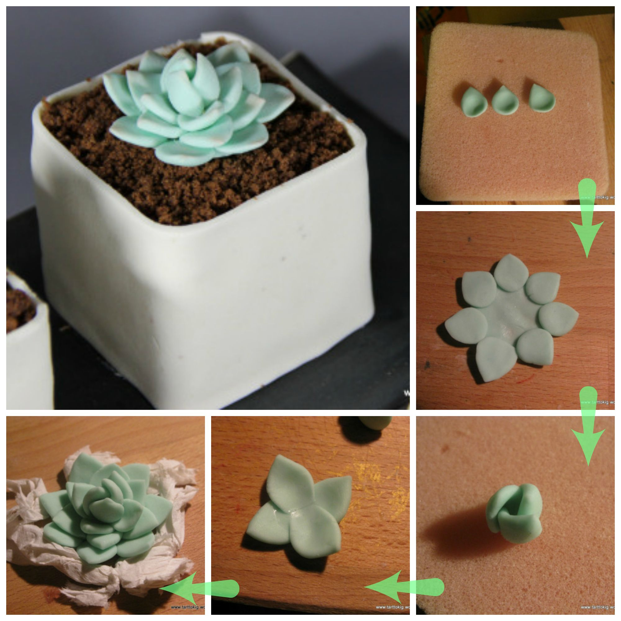 how to make sugarpaste flowers