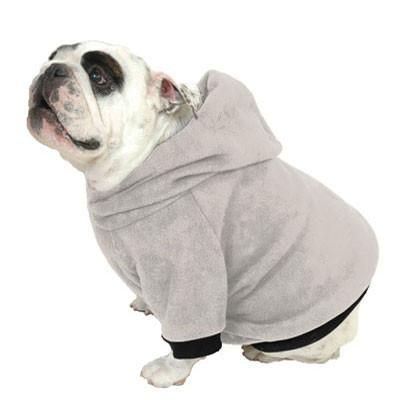 English Bulldog Beefy Hoodie Sweatshirt Fits 31 To 55 Lb Dog
