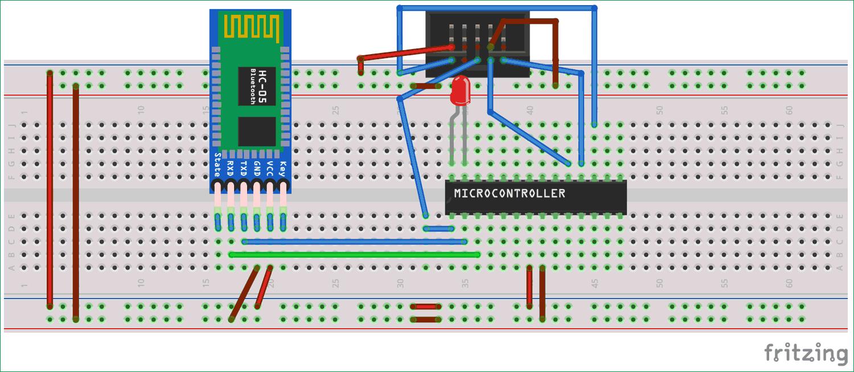 atmega8 circuit diagram circuit diagram for interfacing hc 05 bluetooth module with  interfacing hc 05 bluetooth module