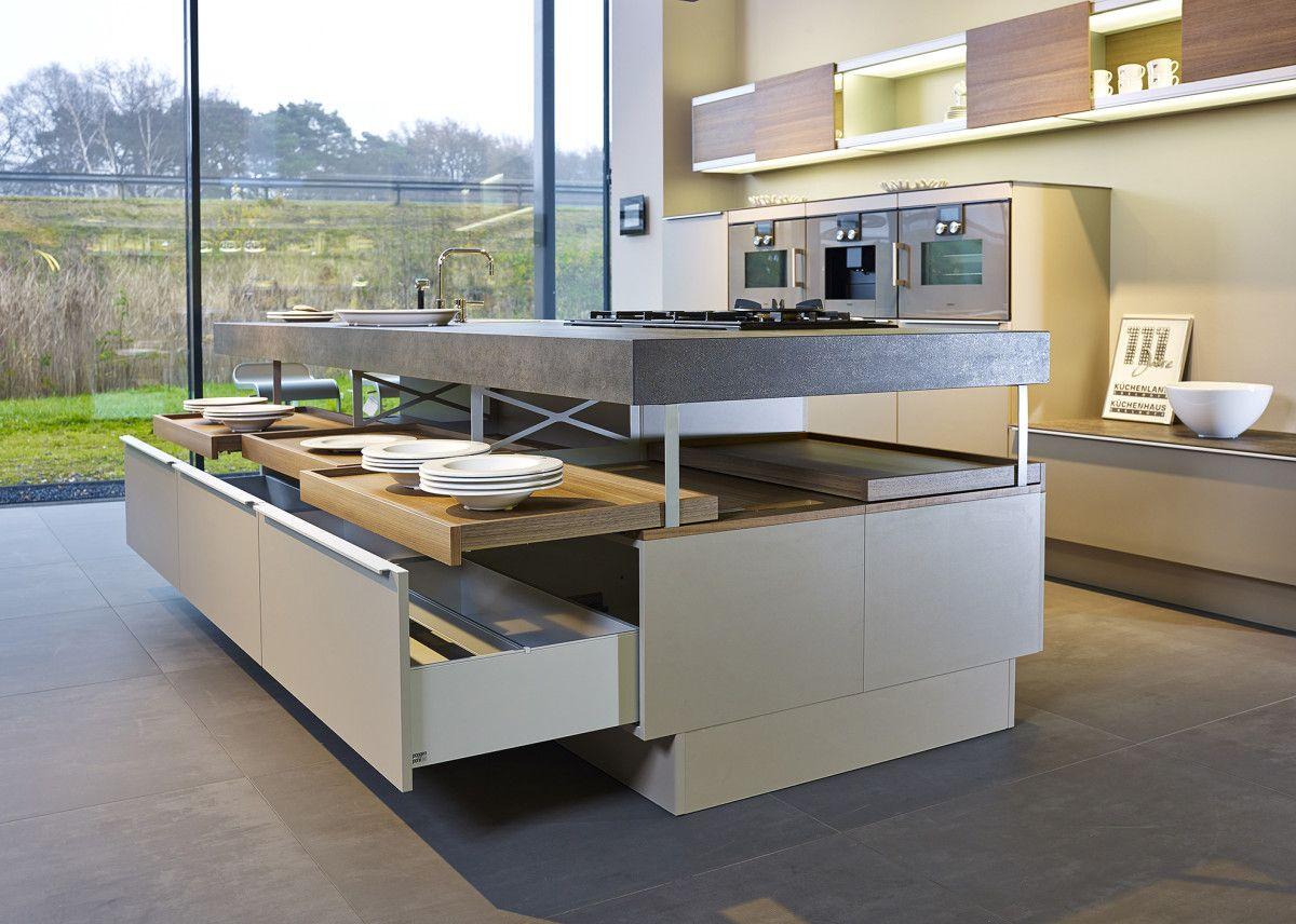 Afbeeldingsresultaat voor keuken met kookeiland en bar keukens pinterest bar keuken en - Luminai re voor de keuken bar ...