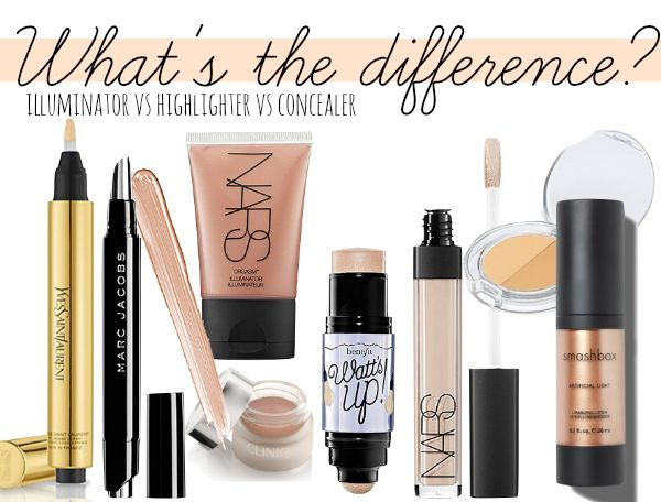 Illuminators Vs Highlighters Vs Concealers When Should You Use
