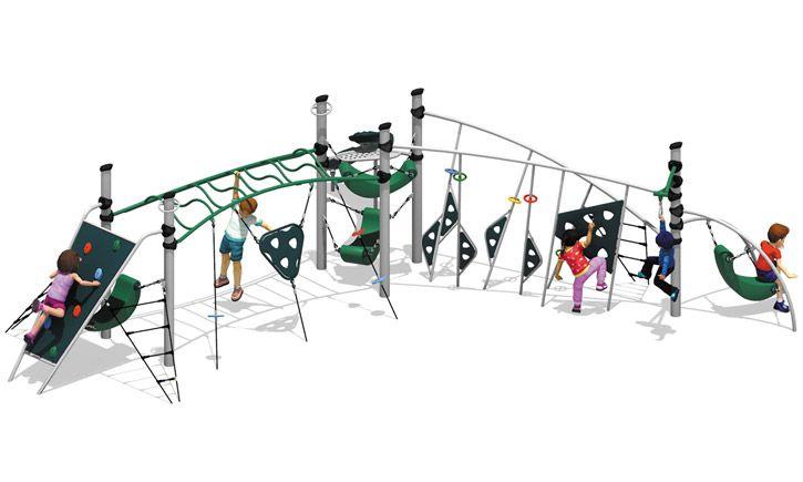 Trek Skyline Structure Bt 412 School Playground Playground Skyline
