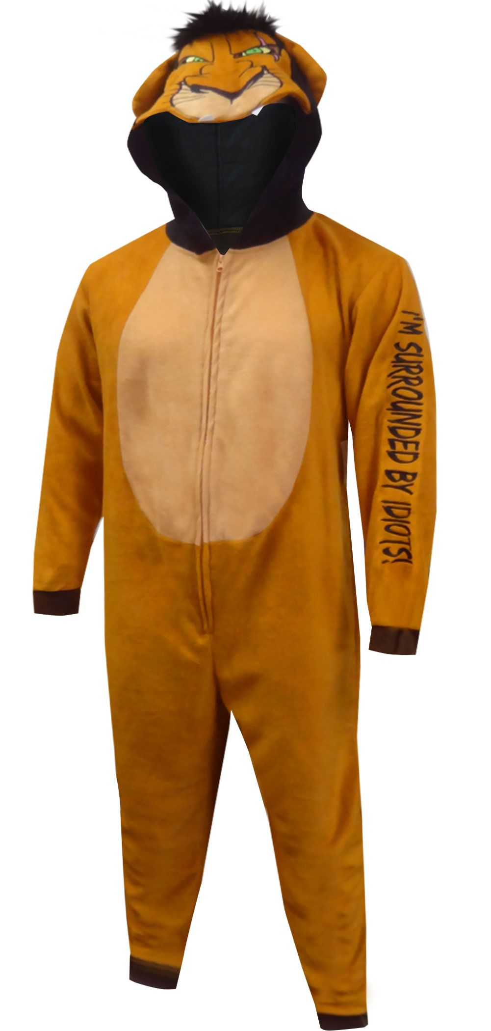 be3dc68a1 Lion King Scar the Villain Onesie Pajama in 2019 | Adult Footie ...