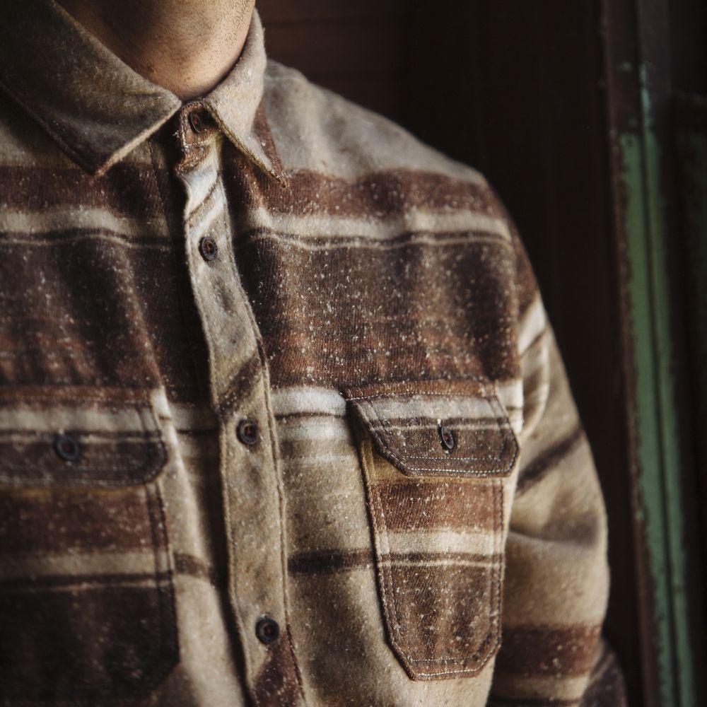 // Burke Brushed Twill Stripe // Model: Daniel Roberts