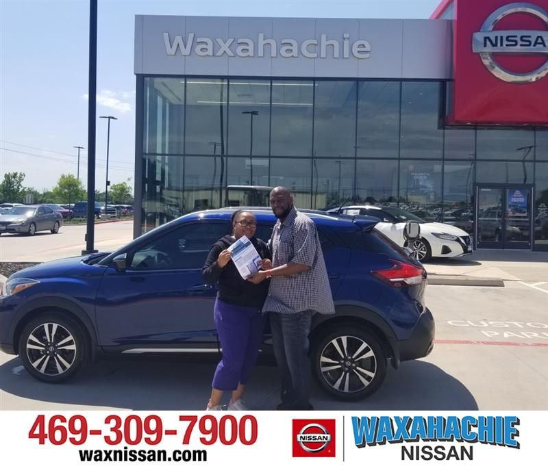 Congratulations Mesha On Your Nissan Kicks From Rubel Harmon At Waxahachie Nissan Waxahachienissan Nissan Waxahachie New Cars