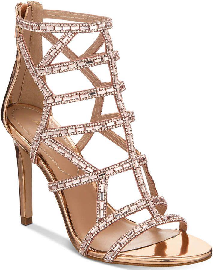 13a1c3d70b055c Aldo Norta Caged Evening Sandals Women s Shoes