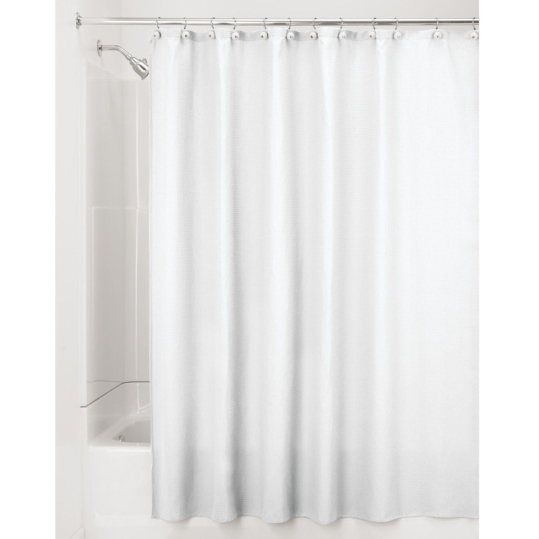 Wasserabweisende Farbe mdesign luxus duschvorhang baumwollmischgewebe 180 x 180 cm farbe