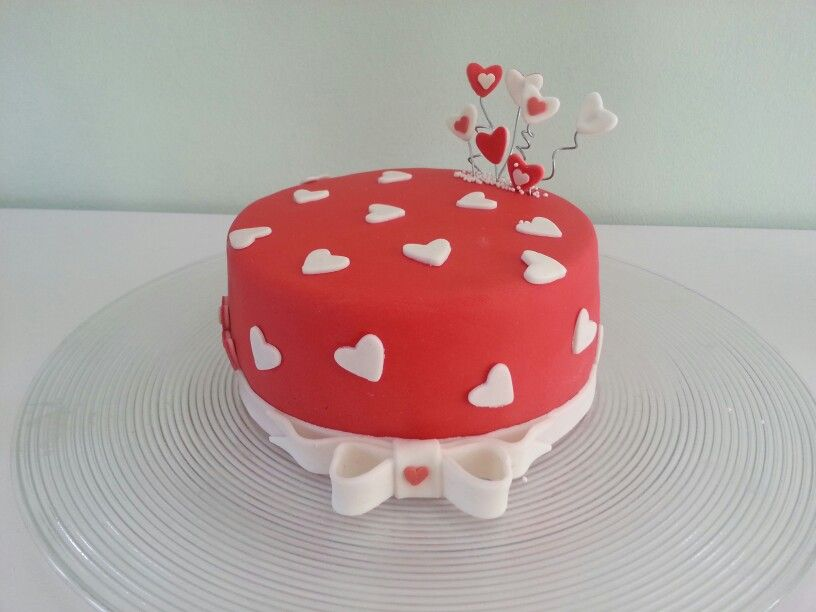 Ongekend Hartjes taart | Taart, Cupcakes, Kindertaarten RM-88